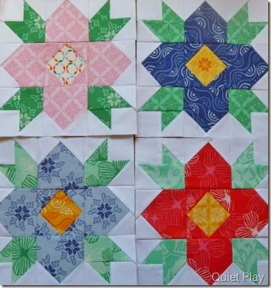 Best 25+ Flower quilts ideas on Pinterest Log cabin quilts, Scrap quilt patterns and Log cabin ...