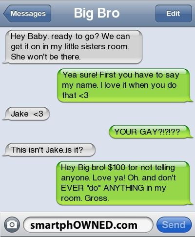 GAY LOVE SMS