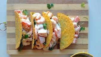 Echt een traktatie, deze taco's. En verrassend gezond!