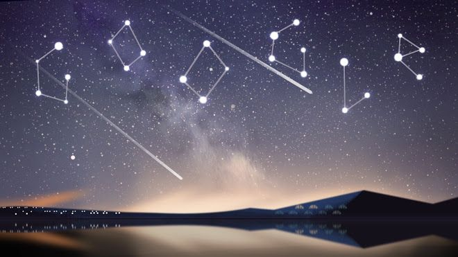 Google Doodle about the Perseid Meteor Shower (happening August 12-13ish).