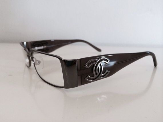 Gallery For > Chanel Vintage Reading Glasses