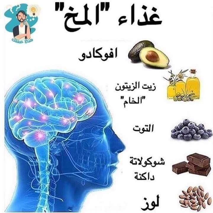 Pin By Kinda Altaie On معلومات نصائح ووصفات طبيعية Health Facts Food Healthy Advice Brain Nutrition