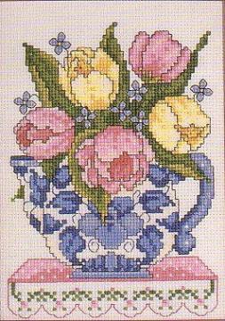Janlynn trial model stitch - Counted Cross Stitch