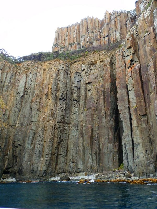 The 2nd highest cliffs in the Southern Hemisphere at South Bruny Island National Park, #Tasmania