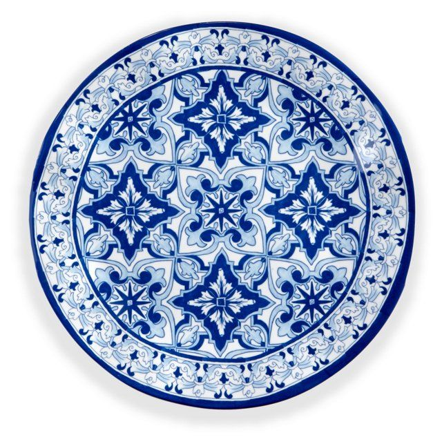 s4 melamine talavera dinner plates