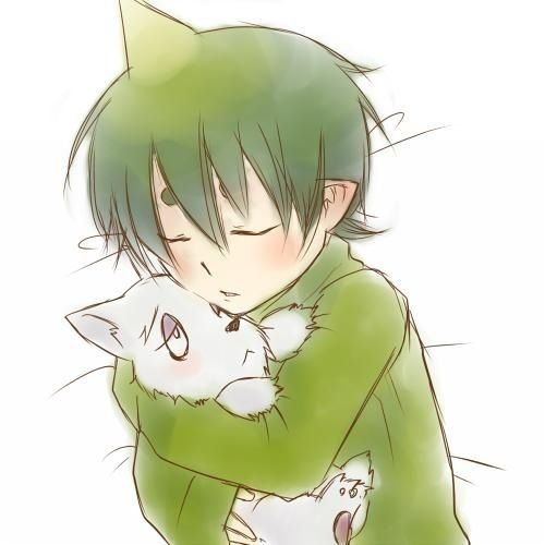Amaimon & Mephisto this is so adorable - Blue Exorcist
