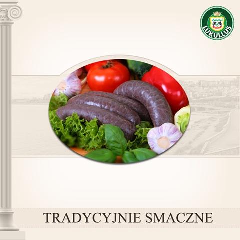 Dla tych, którzy cenią sobie tradycyjne smaki, Lukullus przygotował wyborną, prawdziwą kaszankę.