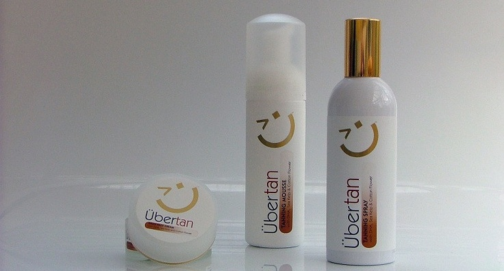Uber Tan: Tanning Mousse,                   Tanning Spray,                   Tanning Dai;y Face Cream