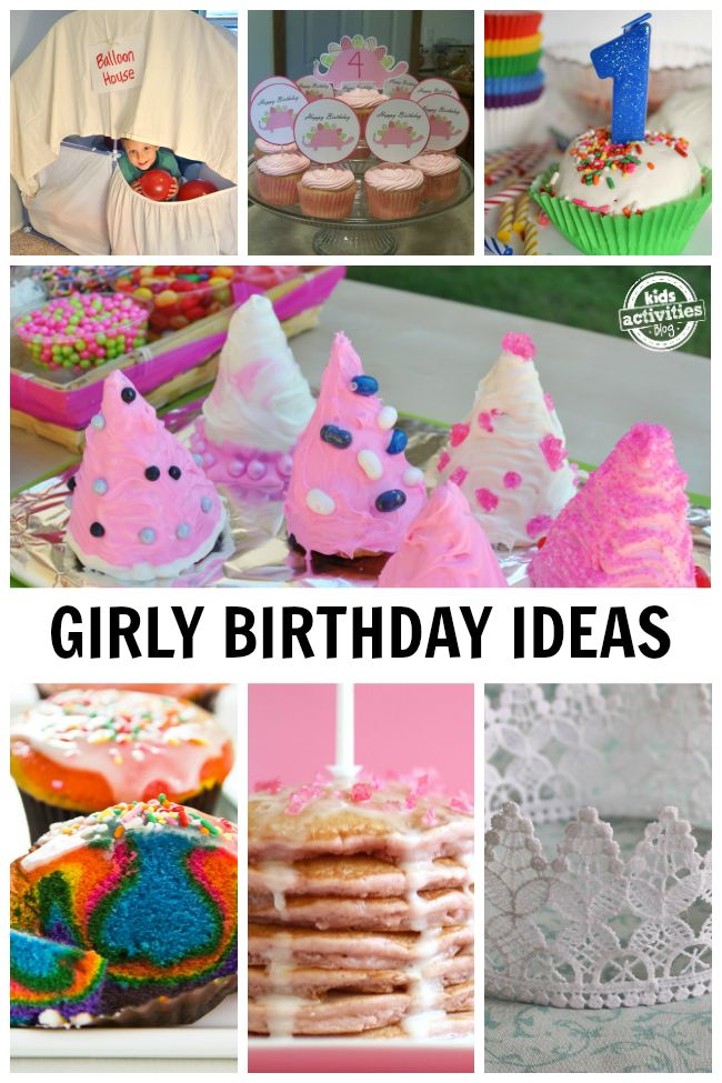More than 60 amazing birthday ideas for girls to make their day special!