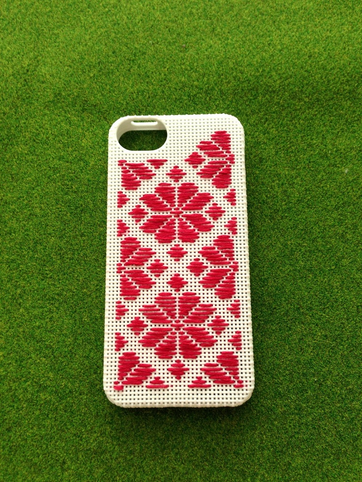 kogin iPhone case こぎん刺しのiPhoneケース