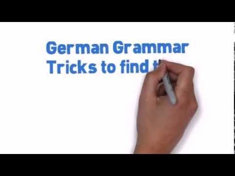 German Grammar Feminine Gender of Nouns - in less than 60 seconds.