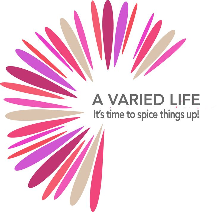 The search for the logo is over. This  perfectly represents the idea of variety adding up to a full, interesting life. www.avariedlife.com