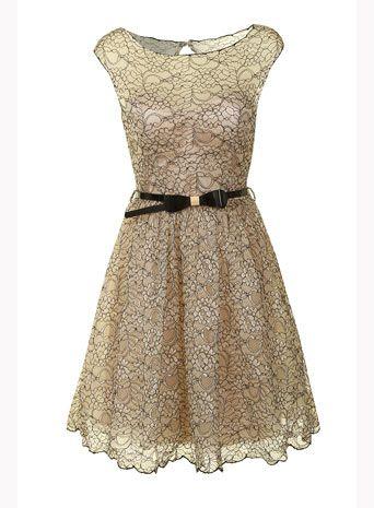Cream black lace dress #DorothyPerkins #ShareTheLove