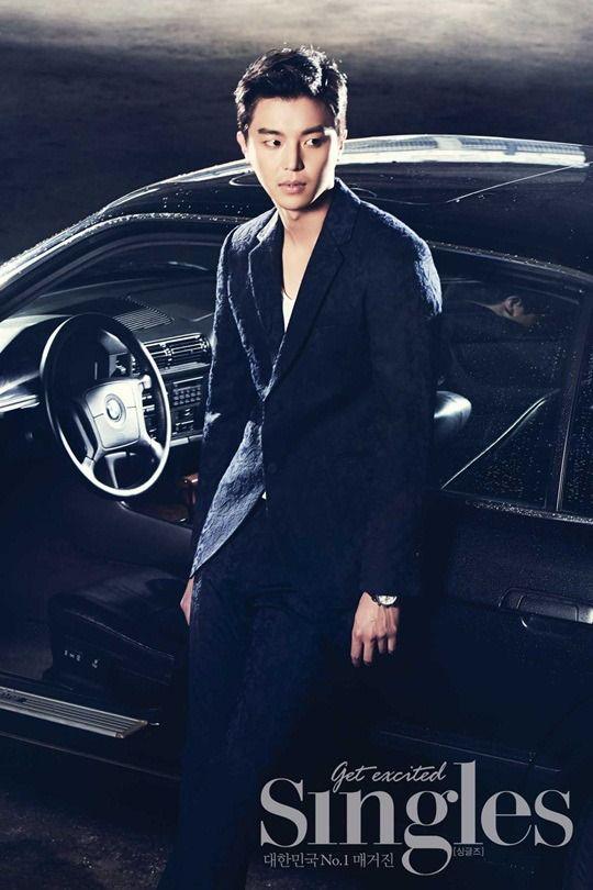 Yeon Woo-jin's Knight Rider photo shoot » Dramabeans » Deconstructing korean dramas and kpop culture