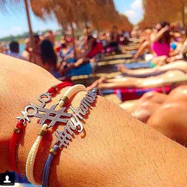 #menstyle #summer2015 #summerbracelets #summer #charmbracelets #charms #hashtagbracelet #yolo #bracelet#mykonos #mykonosbracelet #summerstyle #mylifelikes #mylifelikesgr