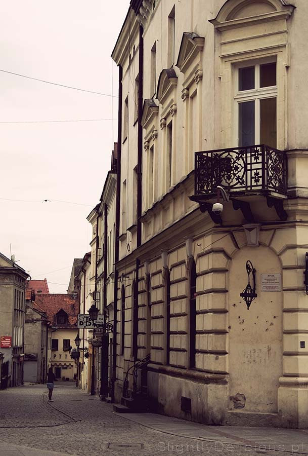 Jedna z malowniczych uliczek tarnowskiej Starówki - Piękna, secesyjna  #Galicja - #Tarnow. #Polska, jakiej nie znamy na co dzień ;)  #SlightlyDelicious