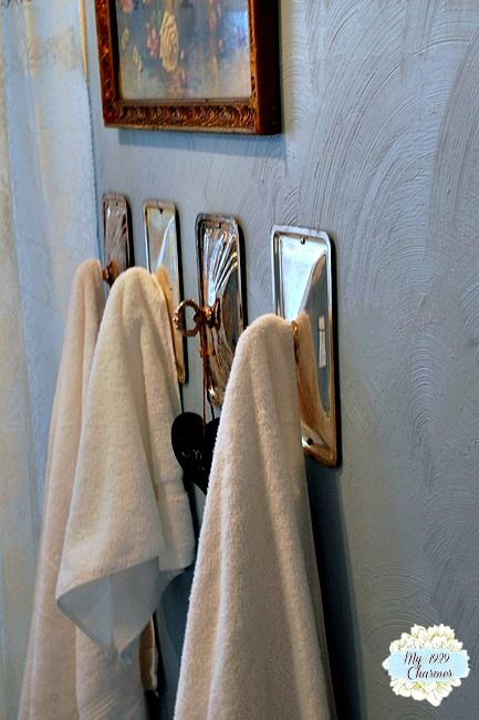 Towel Hooks - Chaotically Creative Co.'s clipboard on Hometalk, the largest knowledge hub for home & garden on the web