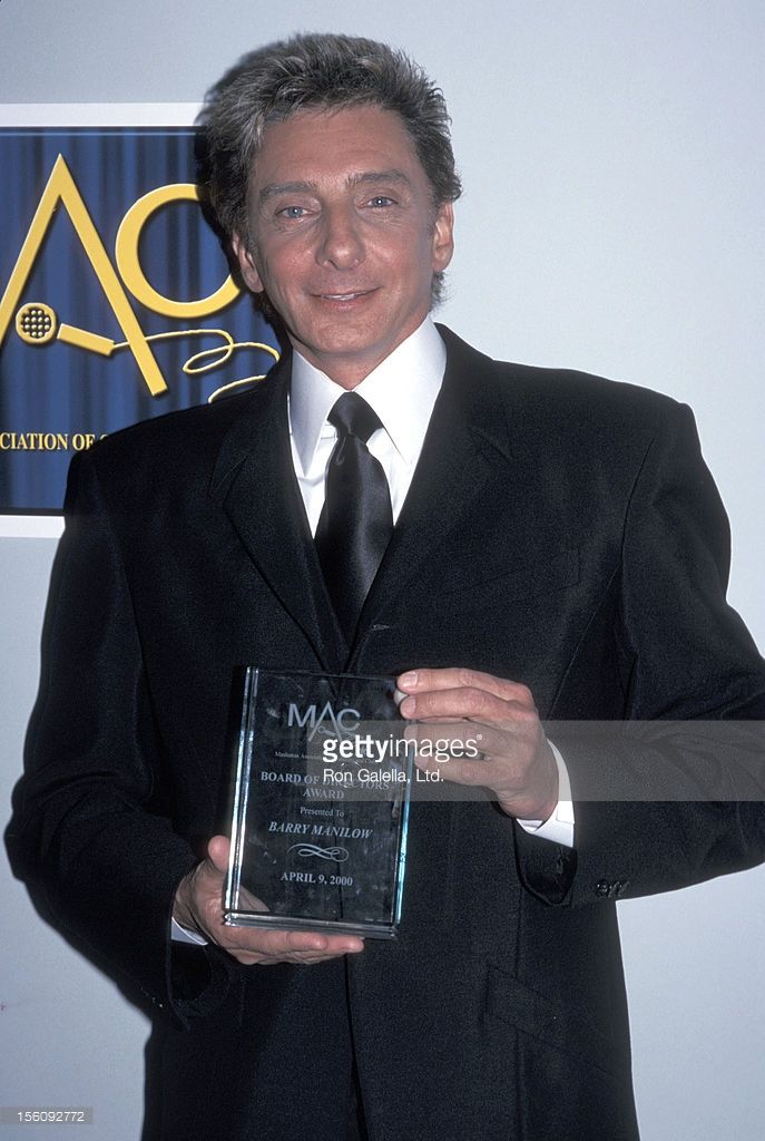 Barry Manilow during 14th Annual MAC Awards at Town Hall in New York City