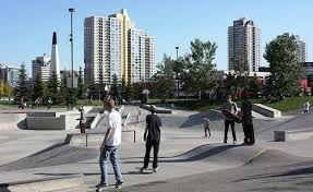 Image result for skateboard park downtown
