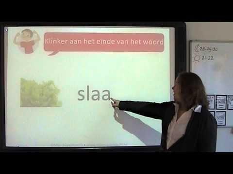 Spelling: klinker aan het einde van het woord
