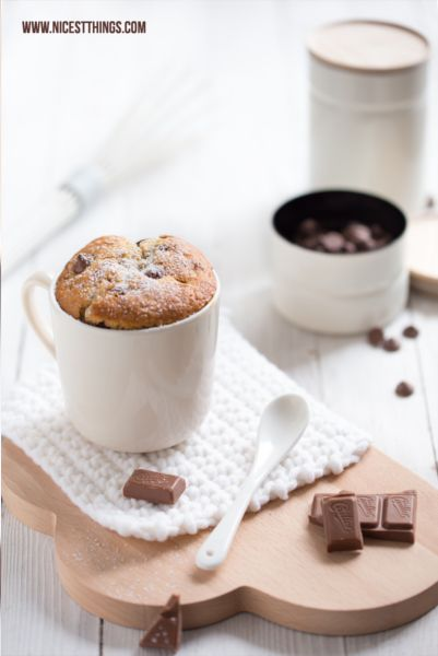 chocOlate chai mug cakes