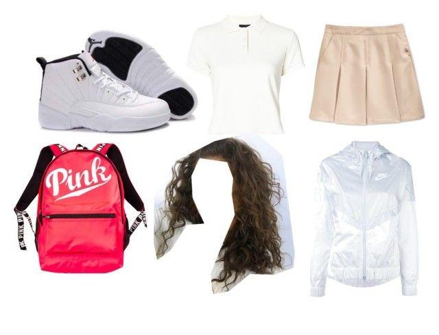 """Basic uniform idea #8🖤"" by baddieoutfitss on Polyvore featuring Nautica, Puma, NIKE and Victoria's Secret"
