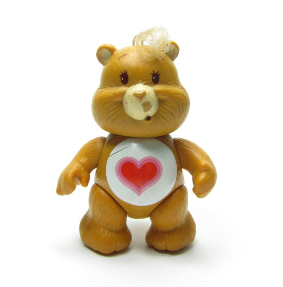Tenderheart Bear Care Bears Poseable Toy