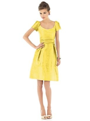 #yellow #bridesmaid #dress by Dessy #wedding