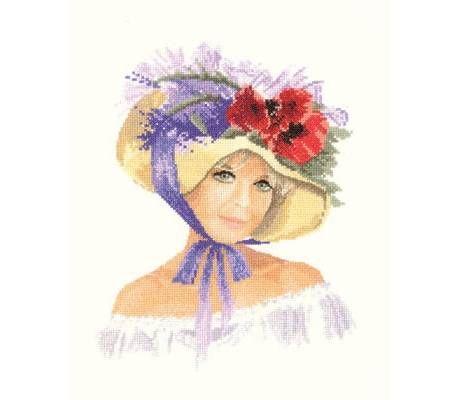 Megan Cross Stitch Kit by Heritage Crafts - £27.25 on Past Impressions