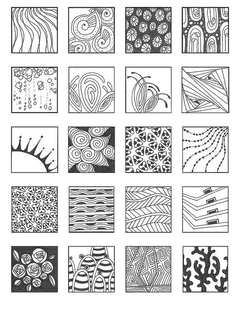 ZENTANGLE PATTERNS noncat 7 | Flickr - Photo Sharing!