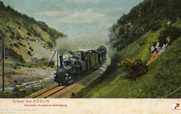 Köslin Eisenbahn-Durchstich Gollenberg