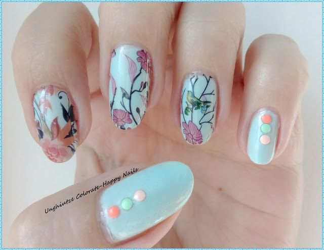 Unghiutze colorate-Happy nails: NOTD-Inspired by Ilda