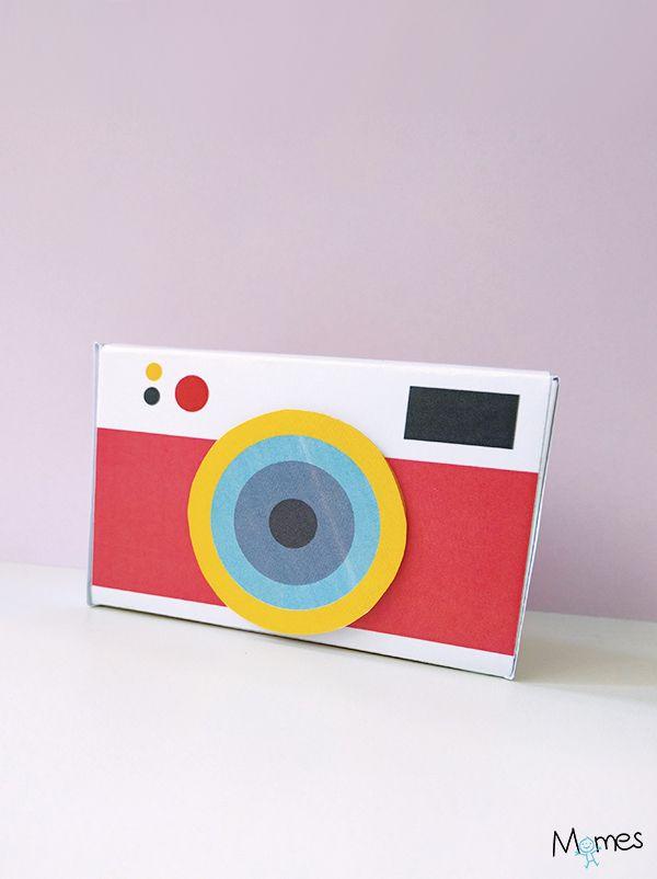 Appareil photo à imprimer pour jouer !