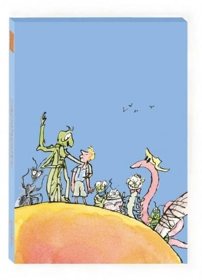 """Roald Dahl & Quentin Blake """"James & the Giant Peach"""" canvas print"""