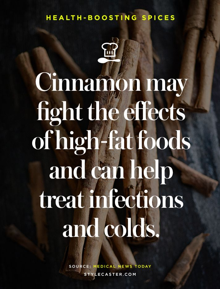 Discover 7 Health Boosting Spices | Use cinnamon when you're feeling sick.