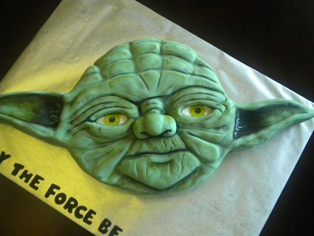 Yoda cake. #StarWars