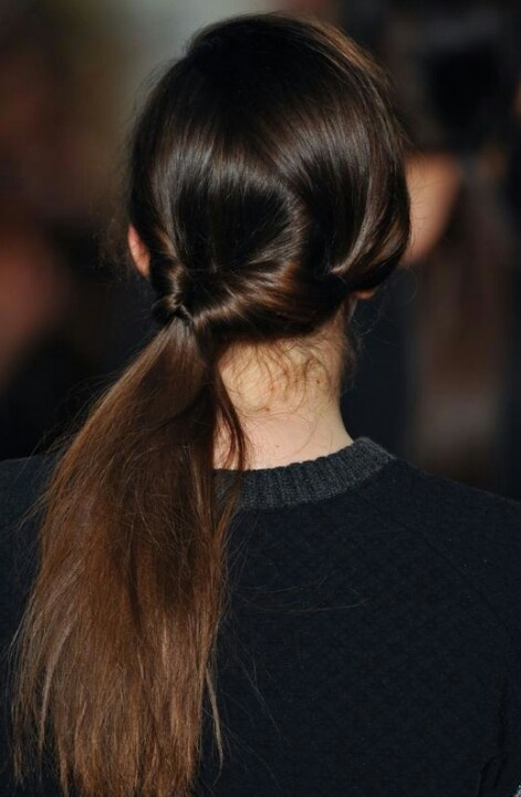 17 Best images about Tied  up  hairstyles  on Pinterest
