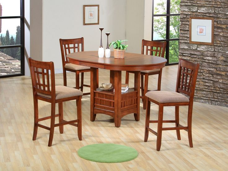 Shop For The Crown Mark Empire Counter Height Dining Table At Darvin Furniture
