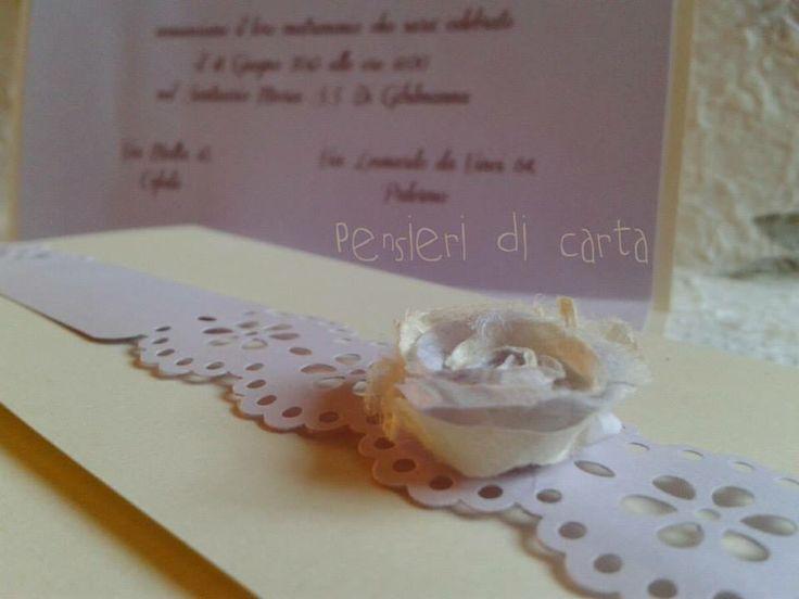 ...dettagli in avorio e lilla! very sweet!!!