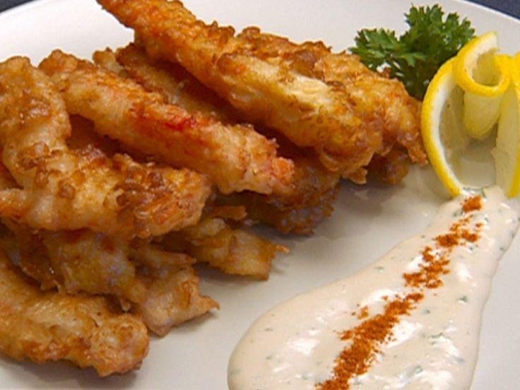 Alaskan King Crab Tempura recipe from Robert Irvine via Food Network