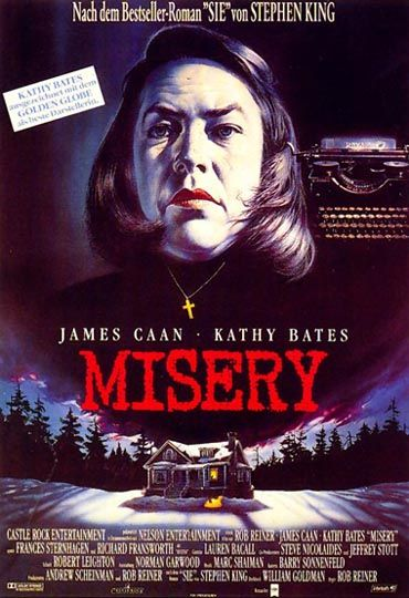 Now I've read the book I realise how well Kathy Bates depicted the character Annie.