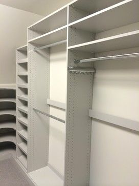 Small Walk In Closet Storage & Closets Design Ideas, Pictures, Remodel and Decor