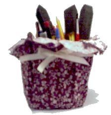 Image for Fabric Pots DIY Craft Project: Diy Craft