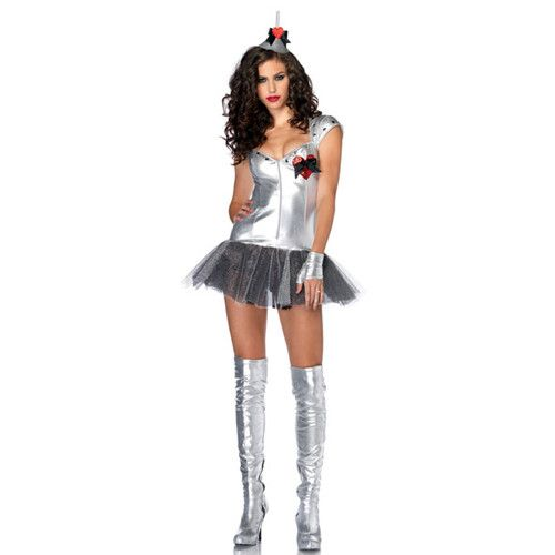 Womens Sexy Robot Adult Costume