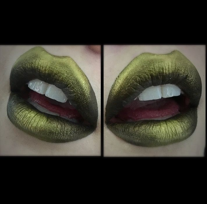 Persephone from LA splash cosmetics. Hair me makeup by Jaidyn Perkins.
