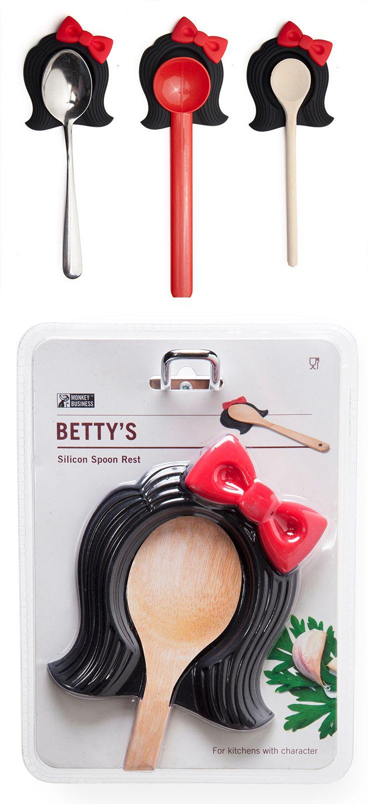 Betty, Spoonrest - Monkey Business #kitchenhelper