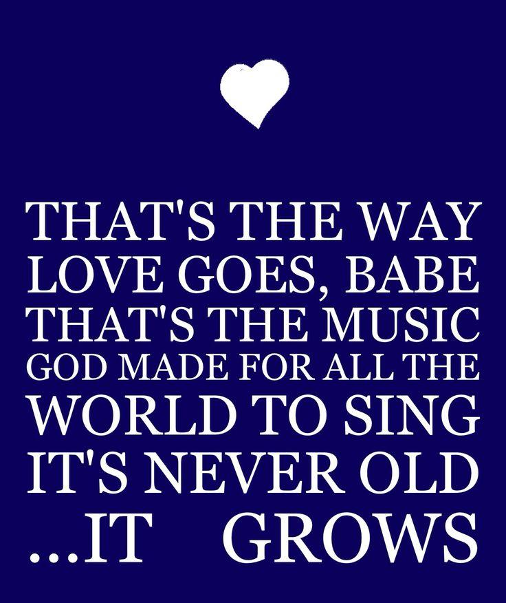 Merle haggard- that's the way love goes #lyrics