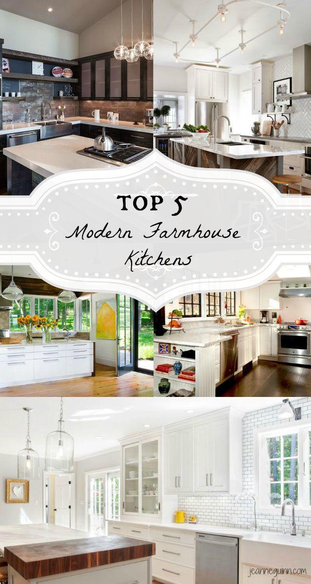 5 drool worthy ideas for modern farmhouse kitchens