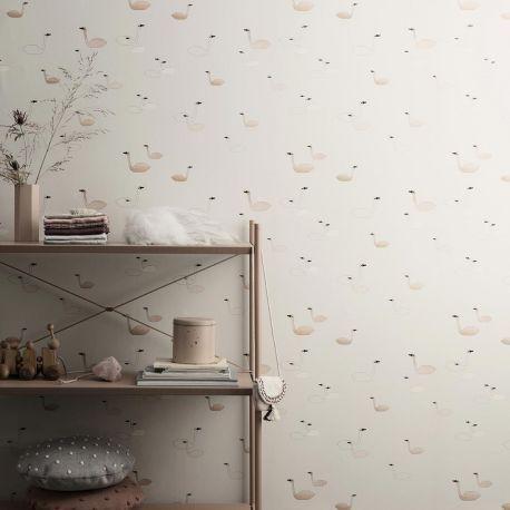les 43 meilleures images propos de papier peint scandinave scandinavian wallpaper sur. Black Bedroom Furniture Sets. Home Design Ideas