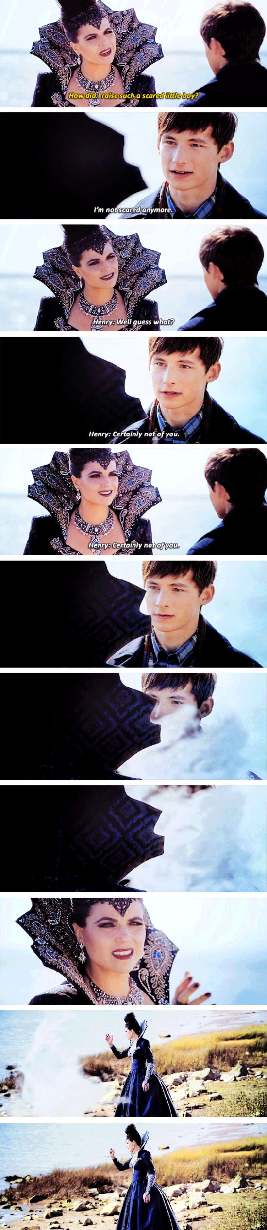 "Henry and Evil Queen - 6 * 8 ""I'll be your mirror"""